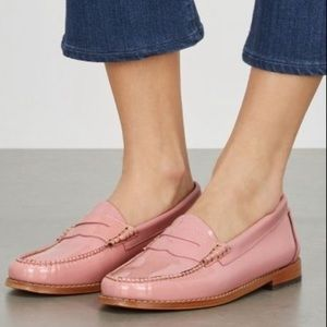 Size 8.5 Petal Pink Weejuns G.H. Bass Loafers